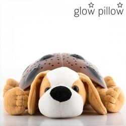 Λούτρινο Κουτάβι με Ήχο και Φωτισμό Νυκτός LED Glow Pillow