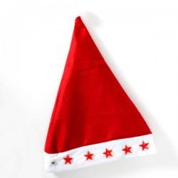 Χριστουγεννιάτικο Σκουφάκι Άη Βασίλη με Αστεράκια LED