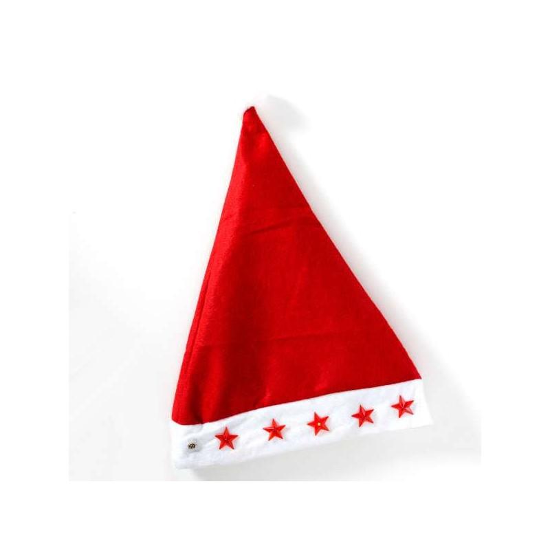 3355700d215 Χριστουγεννιάτικο Σκουφάκι Άη Βασίλη με Αστεράκια LED