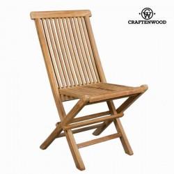 Καρέκλα πτυσσόμενη από ξύλο τικ