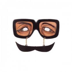 Αστεία γυαλιά με μουστάκι