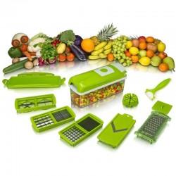 Εξυπνος Πολυκόφτης Λαχανικών και φρούτων (σετ 14 τεμαχίων)!