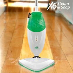 Ηλεκτρική Σφουγγαρίστρα Ατμού με Σαπούνι Steam & Soap X6