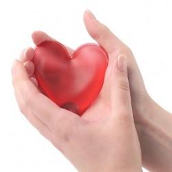 Θερμοφόρα Χεριών σε Σχήμα Καρδιάς