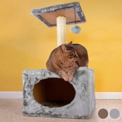 Στύλος Ξυσίματος με Σπίτι για Γάτες
