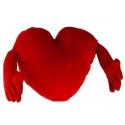Κόκκινη Καρδιά με Χέρια 70 cm