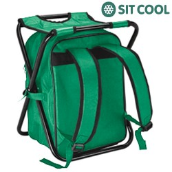 Sit Cool 3 σε 1 Πτυσσόμενη Καρέκλα, Ισοθερμική Τσάντα και Σακίδιο Πλάτης
