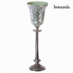 Λευκό ψηφιδωτό κηροπήγιο - Alhambra Συλλογή by Homania