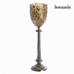 Χρυσό ψηφιδωτό κηροπήγιο - Alhambra Συλλογή by Homania