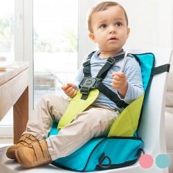 Υφασμάτινο Φορητό Καρεκλάκι Μωρού με Ανυψωτικό Κάθισμα