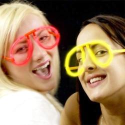 Φωτεινά Γυαλιά για Γιορτές