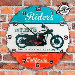 Ρολόι Τοίχου California Riders