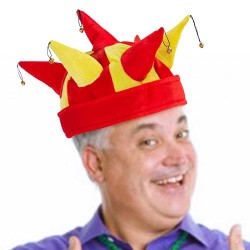 Καπέλο Τζόκερ με Κουδουνάκια Σημαία Ισπανίας