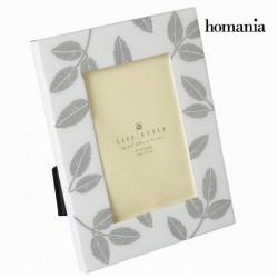 Κορνίζα λευκά φύλλα by Homania