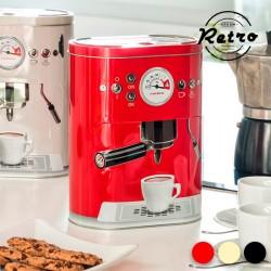 Μεταλλικό Κουτί Vintage Coffee Machine