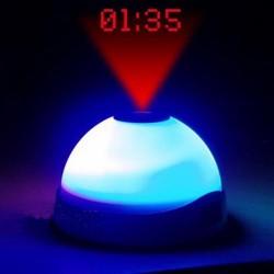 Ξυπνητήρι με Φως Led και Προβολέα