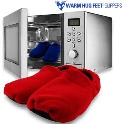 Θερμαινόμενες Παντόφλες Warm Hug Feet