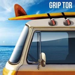 Βεντούζες για Οροφές Αυτοκινήτων Grip Tor (πακέτο με 2)