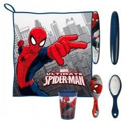 Παιδικό Νεσεσέρ για Φαγητό Spiderman (5 τεμάχια)