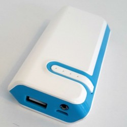 Power bank 12000mAh με 2 USB Φορτιστής και Φακό Led