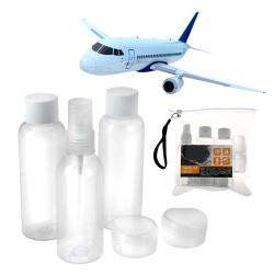Τσαντάκι Ταξιδίου για Είδη Ατομικής Υγιεινής (6 τεμάχια)