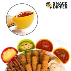 Μπολάκια Απεριτίφ με Πιαστράκια Snack Dipper (σετ με 4)