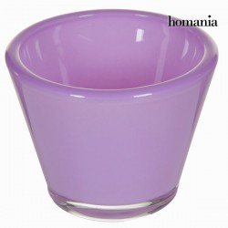 Κηροπήγιο κρυστάλλινο λιλά - Crystal Colours Kitchen Συλλογή by Homania