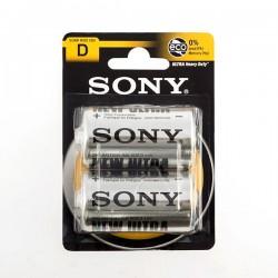 Μπαταρίες Ψευδαργύρου-Άνθρακα Sony Ultra C R14 1,5V (πακέτο με 2)