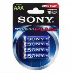 Αλκαλικές Μπαταρίες Sony Plus AAA LR03 1,5V AM4 (πακέτο με 4)