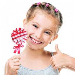 Λαστιχάκια Μαλλιών Lollipop (πακέτο με 24)