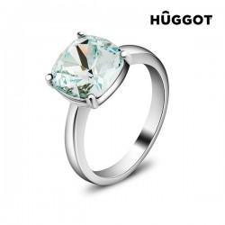Δαχτυλίδι με επίστρωση Ροδίου και Κρύσταλλα Swarovski® Pacific Hûggot