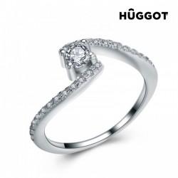 Δαχτυλίδι από Ασήμι Sterling 925 με Ζιργκόν Marilyn Hûggot