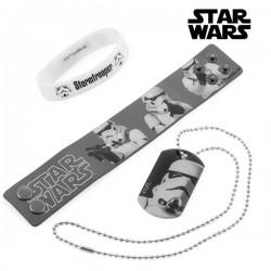 Βραχιόλι και Μενταγιόν Stormtrooper (Star Wars)