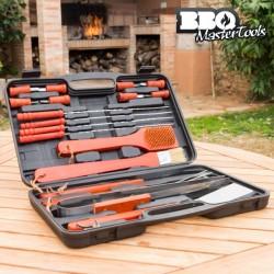 BBQ Master Tools Κουτί Εργαλείων Μπάρμπεκιου 18 Τεμάχια