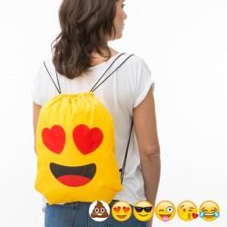 Τσάντα Σακίδιο με Κορδόνια Emoticons