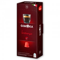 Κάψουλες Espresso Gimoka Intenso 10τεμ. - Συμβατές Nespresso