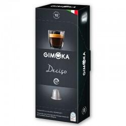 Κάψουλες Espresso Gimoka Deciso 10τεμ. - Συμβατές Nespresso