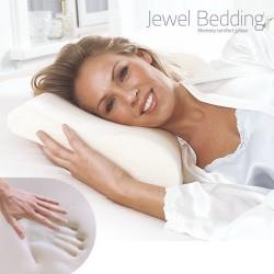 Jewel Bedding Βισκοελαστικό Μαξιλάρι Λαιμού