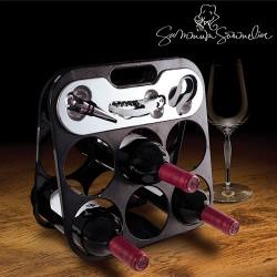 Summum Sommelier Βάση Μπουκαλιών με Αξεσουάρ Κρασιού