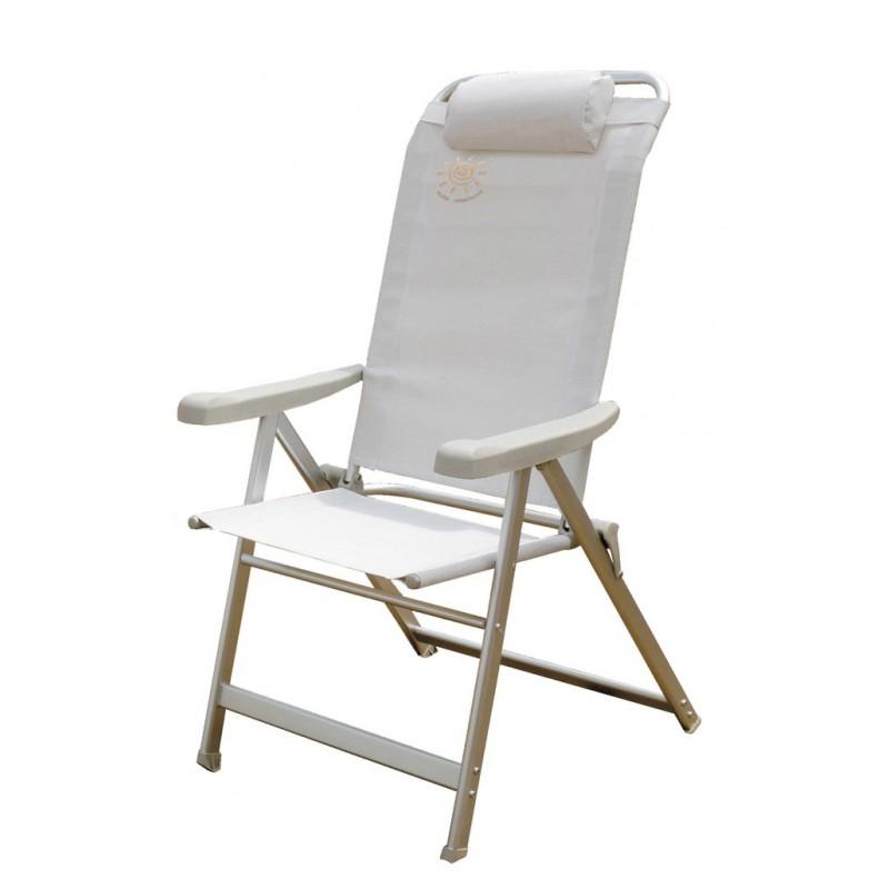 Καρέκλα Παραλίας Αλουμινίου