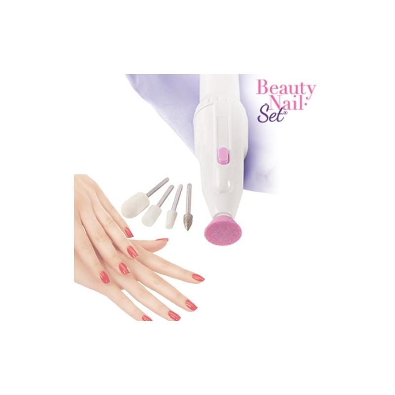 Beauty Nail Set Τροχός Μανικιούρ