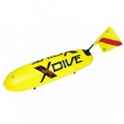 Σημαδούρα PVC Κίτρινη