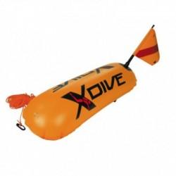 Σημαδούρα PVC Πορτοκαλί