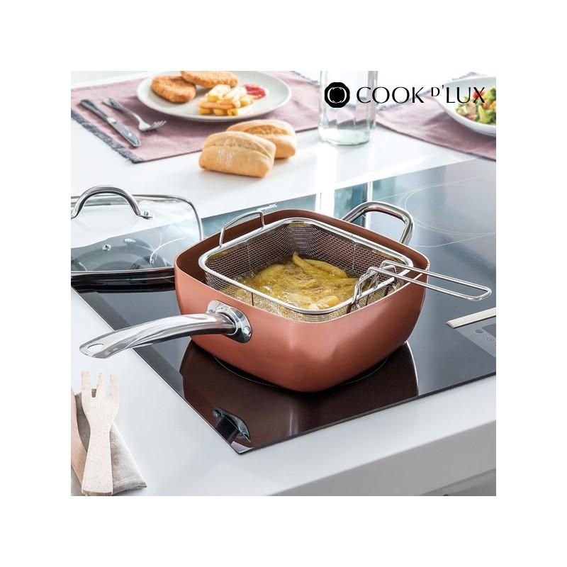 Κεραμικό Τηγάνι με Αξεσουάρ Multi·Cook D'Lux (4 τεμάχια)
