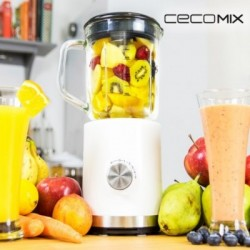 Μπλέντερ με Ποτήρι Cecomix Power Titanium 850
