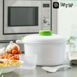 Χύτρα Ταχύτητος για Φούρνο Μικροκυμάτων Tap It Tap