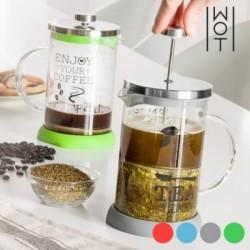 Τσαγιέρα-Καφετιέρα με Καπάκι και Φίλτρο Έμβολο Wagon Trend