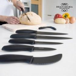 Επαγγελματικά Κεραμικά Μαχαίρια Titanium (7 τεμάχια)