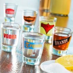 Ποτήρια για Σφηνάκια Spirituous Beverages (πακέτο με 6)