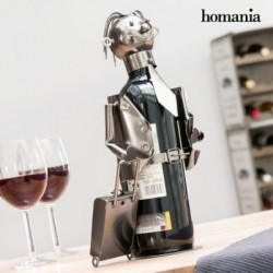 Μεταλλική Θήκη Μπουκαλιών Businessman by Homania